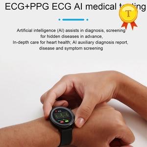 Image 5 - 2021ขายดีที่สุด HD หน้าจอ ECG Ppg สมาร์ทนาฬิกาผู้ชายผู้หญิงกันน้ำอุปกรณ์การตรวจสอบอุณหภูมิบลูทูธ SmartWatch