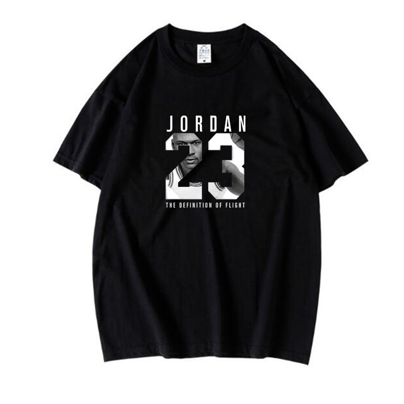 Summer new T-shirt <font><b>Jordan</b></font> <font><b>23</b></font> printing 2020 casual men's T-shirt high quality <font><b>Jordan</b></font> <font><b>23</b></font> hip-hop <font><b>short</b></font> sleeve T-shirt men image