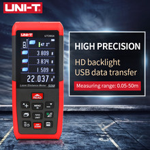 UNI-T medidor de distância a laser 100m 70m 50m usb rangefinder ut395a ut395b ut395c profisional digital fita medida ferramenta armazenamento dados