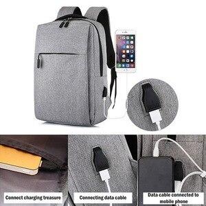 Image 5 - Đa Chức Năng Chống Trộm Laptop Mochila 15.6 Inch Túi Cổng Sạc USB Schoolbag Kinh Doanh Du Lịch Túi Đựng Laptop