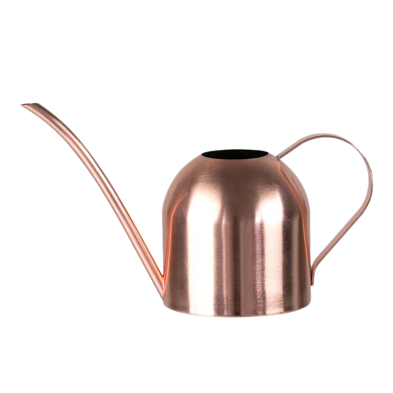 500ML Stainless Steel Long Mouth Watering Pot Green Plant Watering Can Golden Watering Kettle Gardening Tools Watering Can|Sprayers| |  - title=