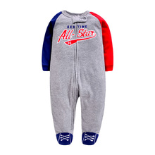 Newborn 0-12M baby boys 2019 spring Rompers soft Baby Boys romper warm fleece Jumpsuit for kids Costumes