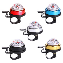 Handlebars Cheap Safety-Horn with Compass Mountain Folding Bicycle-Bell Warning Alarm