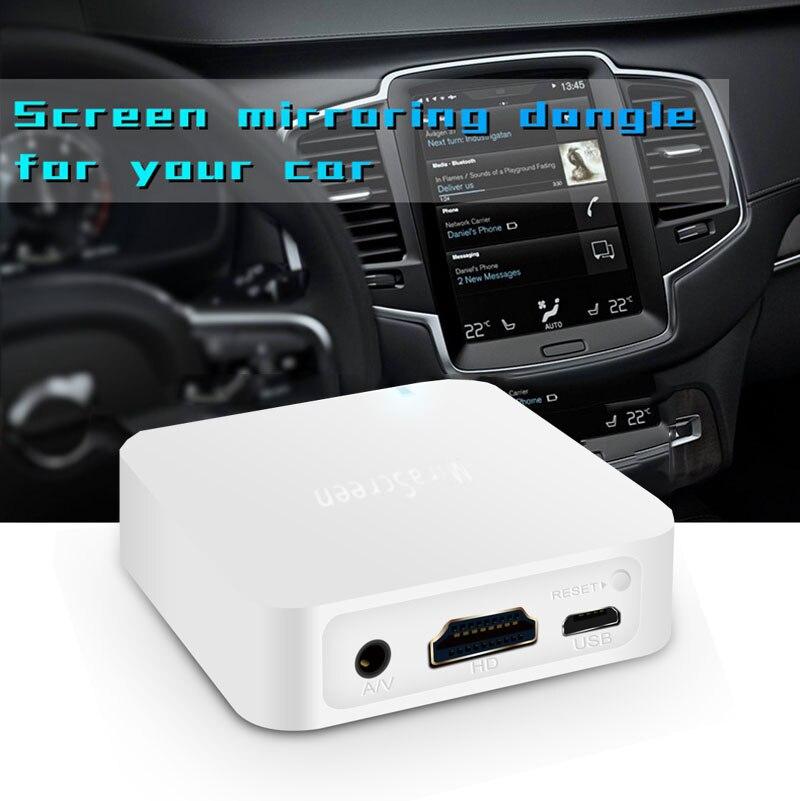 Image 2 - AV HDMI беспроводной WiFi дисплей ключ зеркальная коробка Android  IOS Телефон для автомобиля тв видео адаптер Miracast DLNA Airplay  Зеркальное отображение экранаТелефонные адаптеры и конвертеры   -