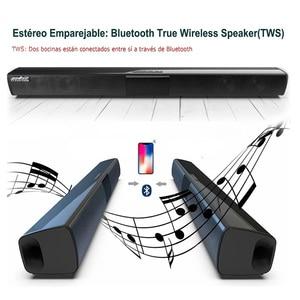 Image 5 - 20W Kolom Draadloze Bluetooth Speaker Tv Soundbar Muziek Stereo Home Theater Portable Sound Bar Ondersteuning 3.5Mm Tf Voor tv Pc