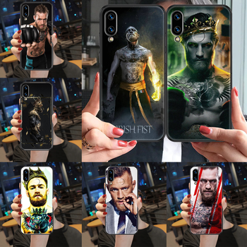Irish Fighter Conor McGregor Phone case For Huawei Honor View 6 7 8 9 10 10i 20 A C X Lite Pro Play black luxury coque pretty image