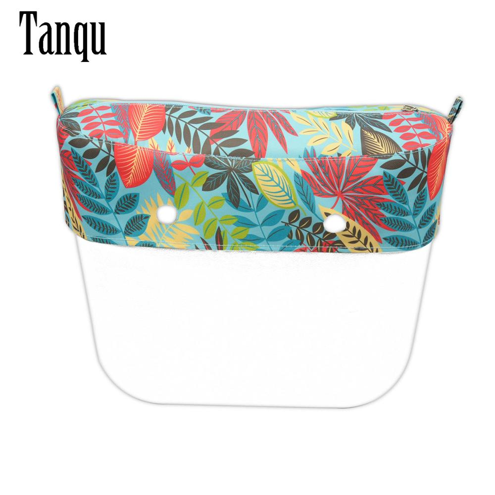 TANQU New Classic Mini Composite Twill Cloth Waterproof Trim With Zipper Decoration For Classic Mini Obag For O Bag Classic Mini