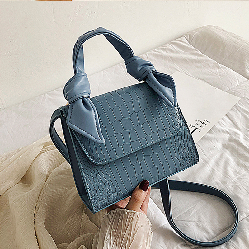 Кожаные сумки через плечо с узором для женщин 2020 модные маленькие однотонные сумки через плечо женские сумки и кошельки с ручкой Новые|Сумки с ручками|   | АлиЭкспресс - Ультрамодные сумки