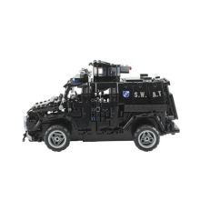 лучшая цена 1:12 2.4G Special Police Armored Armored Minesweeper Explosion-Proof Vehicle