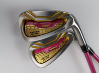 Hot New womens Golf Clubs Honma is 03 Golf Irons set 5 11Sw.Aw(9pcs) with Graphite Golf shaft L flex irons clubs Free shipping