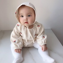 2020 Spring New Korean Crawling Clothes Baby Girl Baby