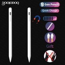Dla iPad ołówek Apple Pen rysik dla iPad Air 4 10.9 Pro 11 12.9 2020 Air 3 10.5 2019 10.2 Mini 5 Touch Pen dla Apple Pencil 2 1