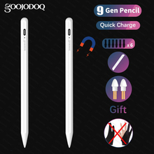 For iPad Pencil Apple Pen Stylus for iPad Air 4 10.9 Pro 11 12.9 2020 Air 3 10.5 2019 10.2 Mini 5 Touch Pen for Apple Pencil 2 1