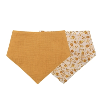 1 Pc Baby Bibs Cotton Accessories Newborn Solid Color Snap Button Soft Triangle Towel Feeding Drool Bibs - S014