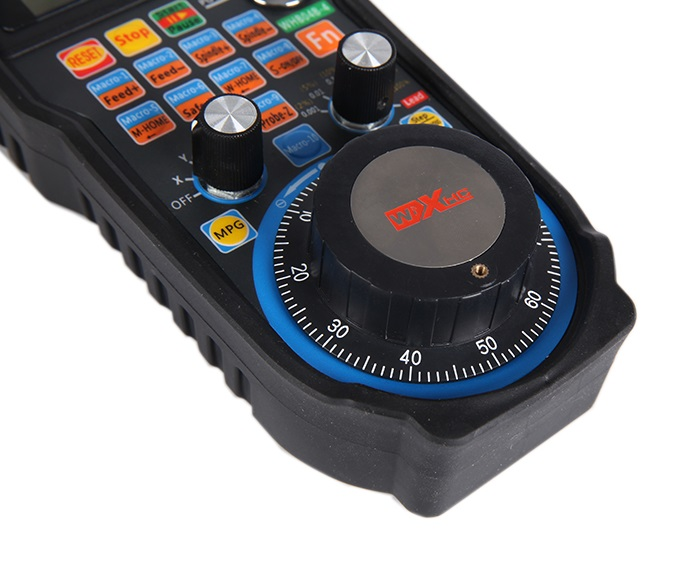 MACH3 draadloze elektronische handwiel 4 axis USB CNC handvat MPG handheld WHB04B - 3