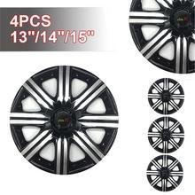 4pcs/set Car Wheel Cover Automotive Universal Hub 13-Inch 14-Inch 15-Inch Accessories