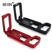 BEXIN caméra libération L plaque plaque de dégagement rapide dslr caméra support plaque pour SONY A7R3 A7M3 A7RIII A7III caméra