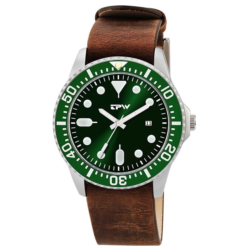 Fashion Luxury Brand Men Watch Waterproof Quartz Genuine Leather Military Wrist Watch For Men Army Clock Male Relojes Hombre