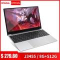Neueste 15,6 Ultra-dünne Laptop Intel J3455 Quad Core 6G + 1TB M.2 Nvme Computer WiFi bluetooth HDMI RJ45 Film/Sport Notebook