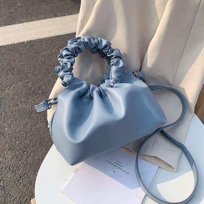 Сумки из искусственной кожи шопперы для женщин 2020, однотонная сумка мессенджер на плечо, женские сумки и сумочки, сумки для путешествий|Сумки с ручками|   | АлиЭкспресс