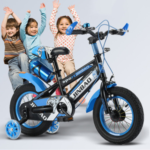 Детский велосипед с нескользящим захватом, 18 дюймов, для мальчиков и девочек, с колесами для тренировок