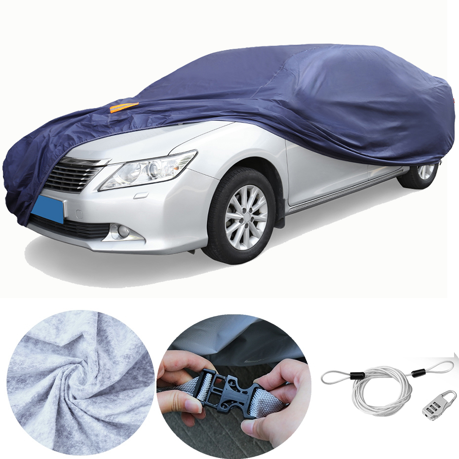 Universal Super Quality Car Covers Outdoor Indoor Waterproof Scratch Protector Rain Snow Sun UV Heat Resistant Car Cover