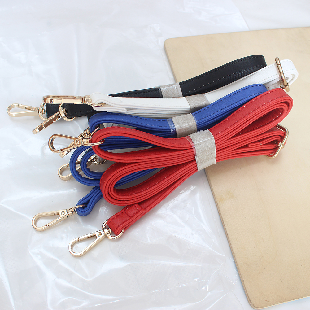 120cm Leather Shoulder Bag Strap Fashion Women Accessories DIY Cross Body Adjustable Belt Bag Solid Color Bag Strap Bag Handles