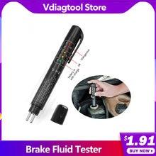 Liquide de frein stylo d'essai d'huile de frein testeur de liquide de frein vérifier liquide de frein LED affichage test Mositure accessoires de voiture