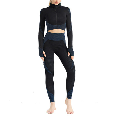 Hot Sale Women Gym Suit Fitness Sets Sports Clothing Ropa Deportiva Mujer Gym Clothing Yoga Clothing Yoga Sets Fitness Suit