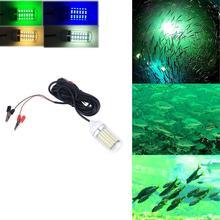 12V LED Bait Fishing Light Fish Finder LED Lamp Boat LED Submersible Underwater Fishing Light Fishing Tackle Outdoor Tools цены онлайн