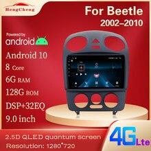 Para 1999-2019 besouro player de vídeo multimídia inteligente besouro gps navegação rádio 4g versão android 10