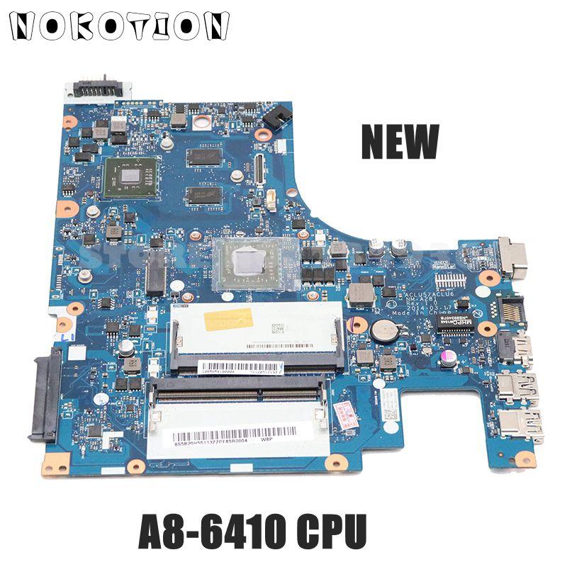 NOKOTION NOVO ACLU5 ACLU6 NM-A281 Para Lenovo