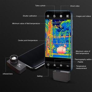 Image 2 - Termocamera HT 301 USB Termica A Infrarossi Imager Mobile Del Telefono Termica A Infrarossi Imager per Android Del Telefono di Tipo C