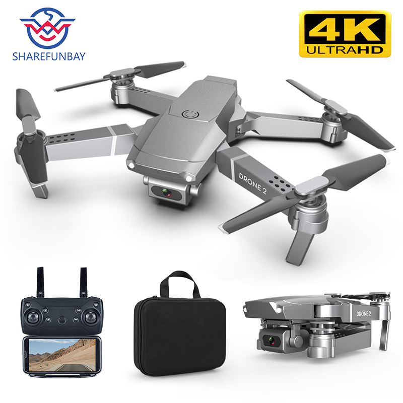 E68 drone HD grand angle 4K WIFI 1080P FPV drone vidéo enregistrement en direct quadrirotor hauteur pour maintenir drone cameraVS e58 drone