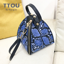 2020 Summer Snake Print Women Wristlets Bag Designer Chain Clutch Purses Ladies Fashion Trend Quality High Street Quality Bag