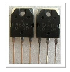 2pcs/lot=1pair B688 D718 TO-3P In Stock - discount item  8% OFF Active Components
