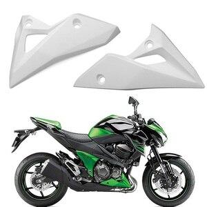 Z800 niepomalowane pod dolna lewa prawa strona owiewki pokrywa zestaw straż motocykl dla Kawasaki Z800 Z-800 2013 2014 2015 2016 Z 800