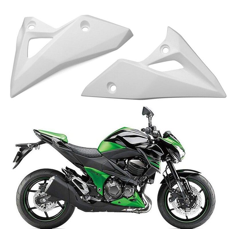 Чехол для мотоцикла Z800, неокрашенный, под нижней, левой, правой стороной, для Kawasaki Z800, для 2013, 2014, 2015, 2016, Z 800