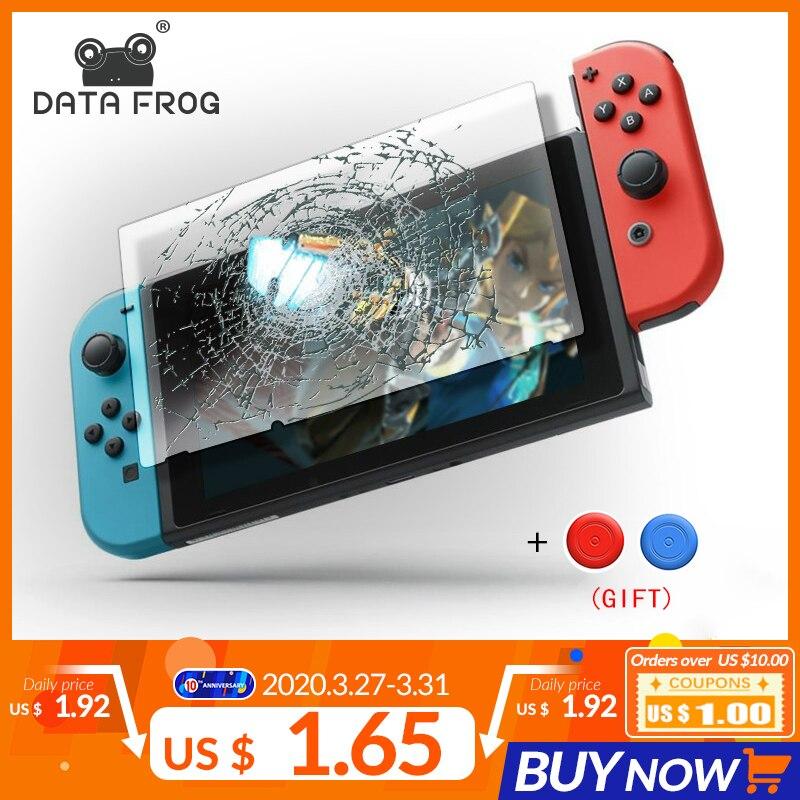 Data Frog Premium Tempered Glass Screen Protector For Nintendo Switch NS Screen Protector For Nintend Switch Lite Accessories