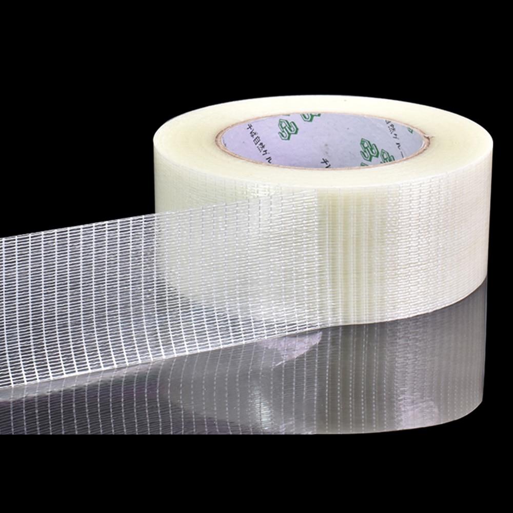 Yx fita resistente de fibra de vidro, fita para avião de brinquedo de modelo de malha super forte, fita da única face resistente ao desgaste fita reforçada 25m