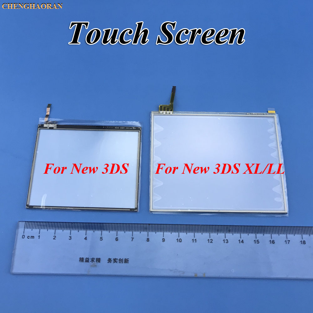 ChengHaoRan 1x For New 3DS / 3DS XL LL Touch Screen Digitizer Bottom Glass Replacement Repair Parts For Nintendo NEW 3DS XL LL
