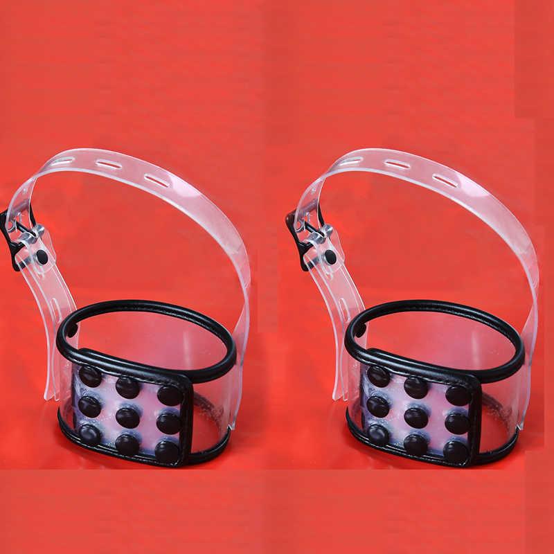 Oogmasker Handboeien Enkelband Lock Kraag Lead Set Bdsm Bondage Terughoudendheid Exotische Accessoires Tool Slave Paar Seksspeeltje Voor Man vrouw