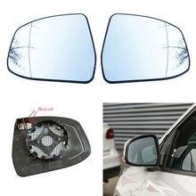 استبدال السيارات زاوية واسعة اليسار اليمين ساخنة الجناح مرآة خلفية الزجاج لفورد فوكس 2012 2018 مونديو 2008 2012