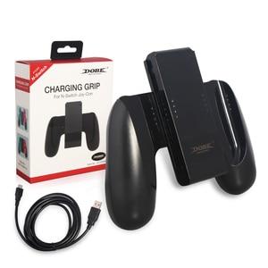 Image 5 - Neue Lade Hand Grip Gamepad Ständer Halter für Nintend Schalter NS N schalter Freude Con controller