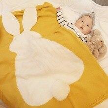 Baby Blankets Quilt Swaddle-Wrap Bedding Linen Knitted Newborn-Bebe Children Summer Cover