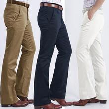 Костюм брюки 2020 мужские деловые повседневные расклешенные