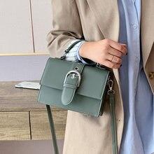 Модные сумки для женщин из искусственной кожи с небольшим клапаном