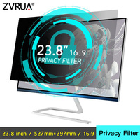 23.8 inch (527mm*297mm) Privacy Filter Anti Glare LCD Screen Protective film For 16:9 Widescreen Computer Notebook PC Monitors