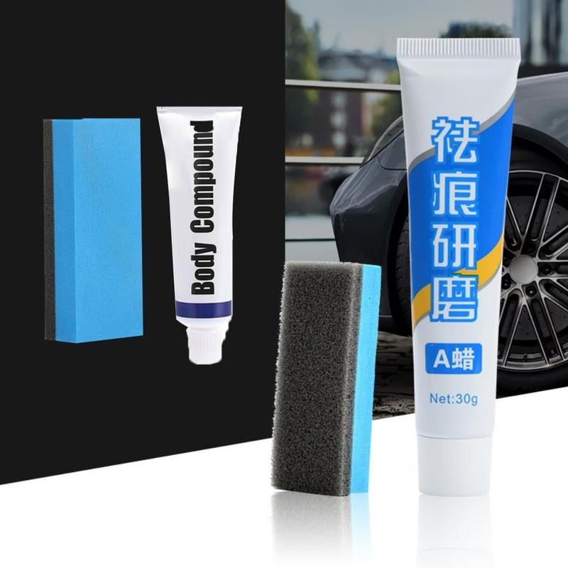 15g Car Styling Fix It Car Body Grinding Compound Paste Set Scratch Paint Care Auto Polishing Car Paste Polish Car Cleaning