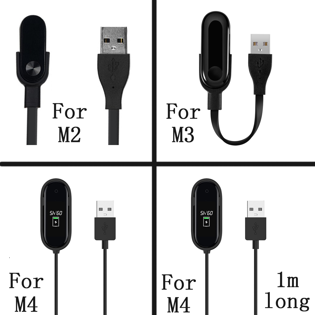For M2/M3/M4 Replace <font><b>charger</b></font> <font><b>cable</b></font> for <font><b>Xiaomi</b></font> <font><b>Mi</b></font> <font><b>Band</b></font> <font><b>2</b></font>/3 /4 USB Fast Charging <font><b>Cable</b></font> Smart Accessories for <font><b>Xiaomi</b></font> <font><b>Band</b></font> <font><b>2</b></font>/3 /4 image